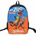 3D Cartoon Fox Rabbit Backpack Printing Shoulder Bag For Children Boy Girl Crazy Animal Backpack Schoolbag Lovely Nylon Bagpack