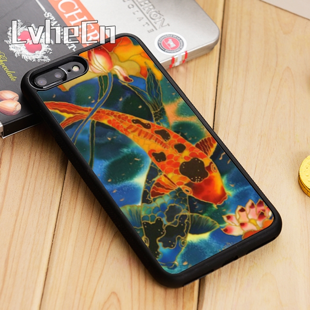 Phone Bags & Cases Lvhecn Classic Art Carp Koi Newest Phone Case Cover For Iphone 5 5s Se 5c 6 6s 7 8 10 X Samsung Galaxy S5 S6 S7 Edge S8 S9 Plus Making Things Convenient For Customers