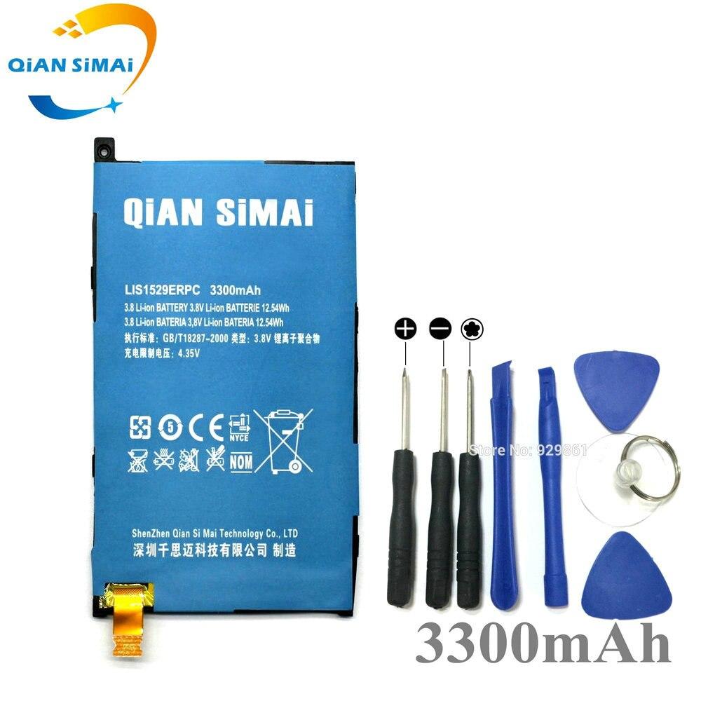 QiAN SiMAi LIS1529ERPC 3300 mAh Batterie & Outils De Réparation Remplacement Pour Sony Z1 mini Z1mini D5503 Z1 Compact M51w téléphone 1 PCS nouveau