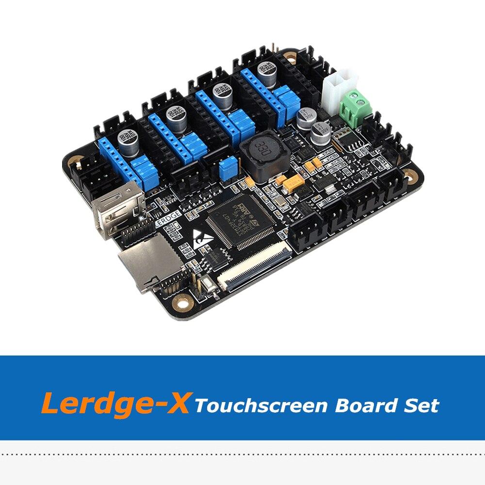 3D Imprimante Conseil Lerdge-X BRAS 32Bit Contrôleur Carte Mère + 3.5 pouces Écran Tactile Avec 4 pcs LV8729 Pilotes - 3