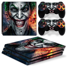 New Design For Sony PS4 Pro Vinyl Skin Sticker Cover Playstation 4 Console + 2 Controller Decal