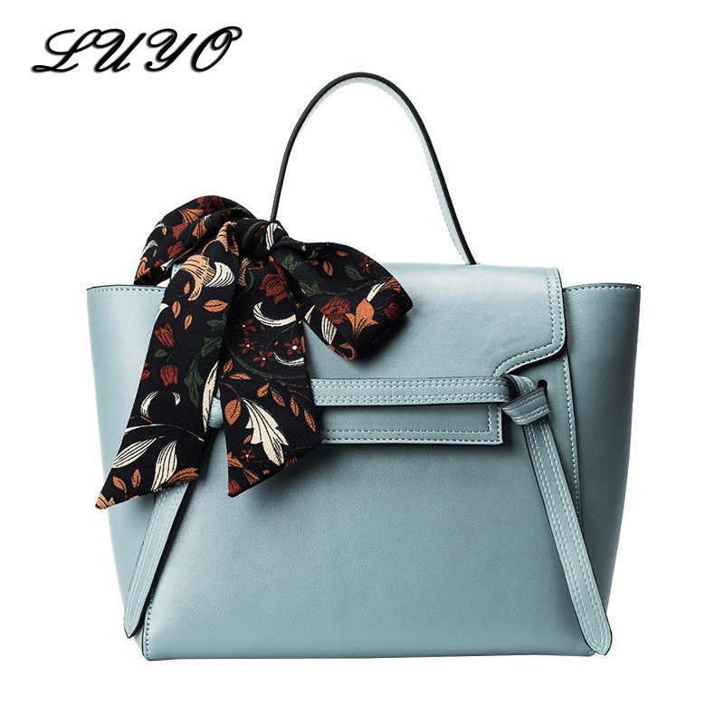 fcd901d26981 2018 Trapeze Bow Women Famous Brands Leather Luxury Handbags Women  Messenger Bags Designer Girl Shoulder Crossbody