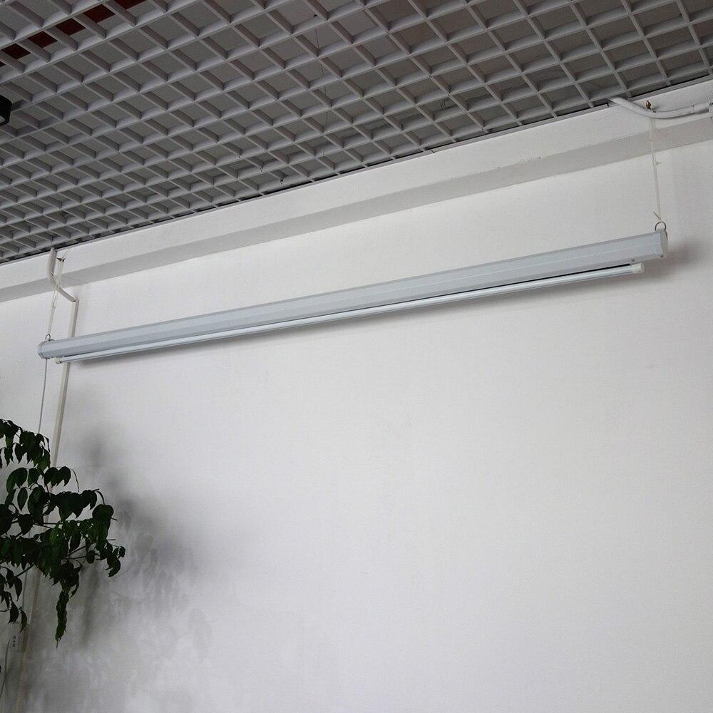 ThundeaL 100 pouces 16:9 écran de projecteur électrique Home cinéma école de commerce Bar LED motorisé DLP écran de Projection électrique - 4