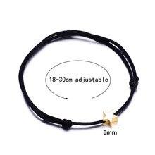 Golden Cross Heart Star Bracelet for Girls