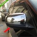 Хромированная боковая формовочная крышка зеркала заднего вида для BMW X5 2011-2013