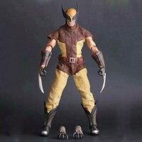 26 cm Çılgın Oyuncaklar 16th Süper Kahraman Wolverine PVC Action Figure Koleksiyon Model Oyuncak Noel Hediyesi Cadılar Bayramı Hediye