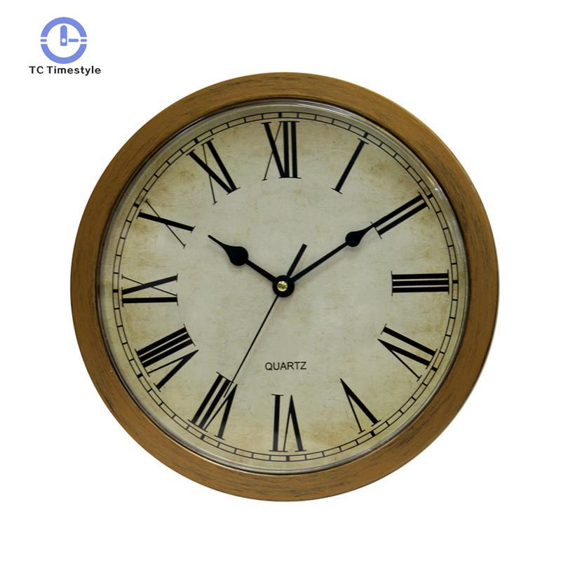 Vintage Wall Clock Safe Large Secret Jewelry Security Watches Home Decoration Accessories Modern Quartz Wall Clocks