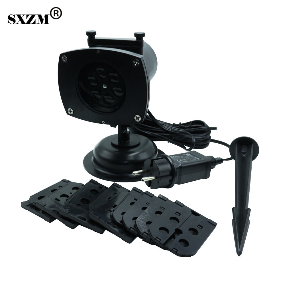 SXZM Waterproof led Stage light 12 Pictures outdoor projector Landscape Light Xmas Party ...