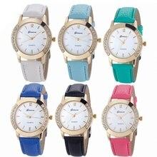 Luxusní dámské hodinky s kamínky na ciferníku