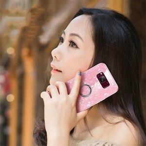 Image 5 - Für Samsung Galaxy S8 S9 S10 Plus Hinweis 8 9 Marmor Muster Gehärtetem Glas Telefon Fall Für Samsung Galaxy S10e s10 Lite Abdeckung Funda