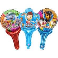 Hot Paw Patrol Birthday Decoration Figure Toys Puppy Patrol Balloon Toys Party Room Decor Chase Marshall Ballon Kids Girls Toy