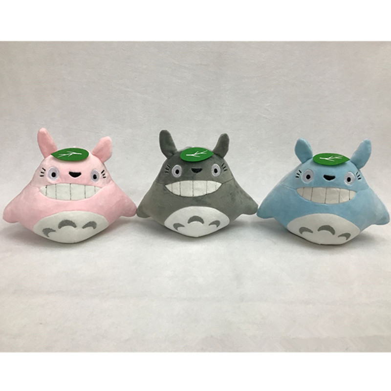 QICSYXJ Fashion Stuffed Toy Gift Supply Japan Anime 18cm Totoro Down Cotton Plush Doll for Childrens Girls Boys 1PC Random Color