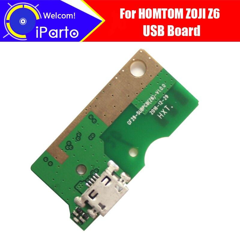 4.7 pouces HOMTOM ZOJI Z6 usb conseil 100% Original Nouveau pour usb carte de charge de prise Accessoires de Remplacement pour ZOJI Z6 téléphone