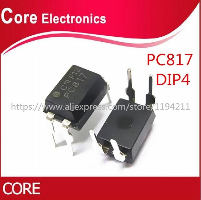 500pcs PC817 EL817 817 817C FL817C PS817C DIP Optoacoplador