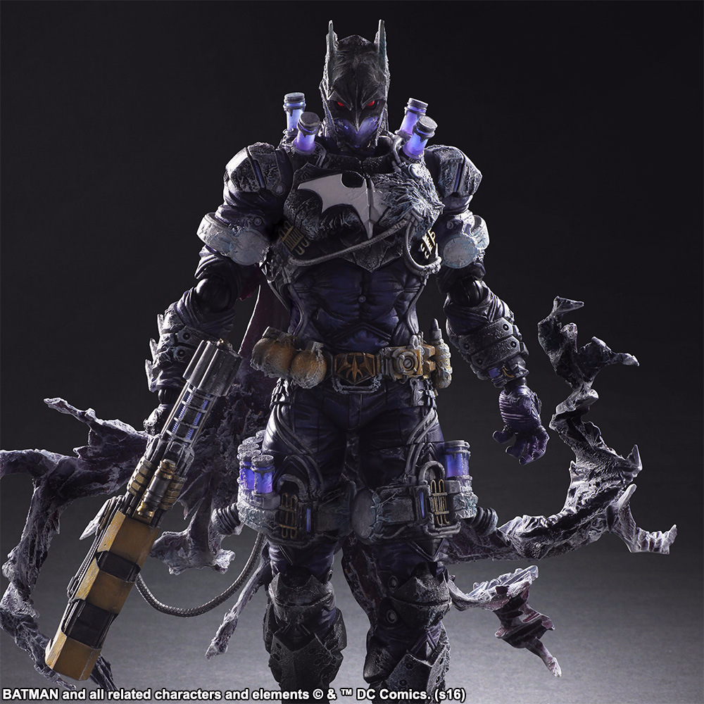 Play Arts 27cm Rogues Gallery Victor Fries Mister Freeze Character Bad Guys in Batman Action Figure