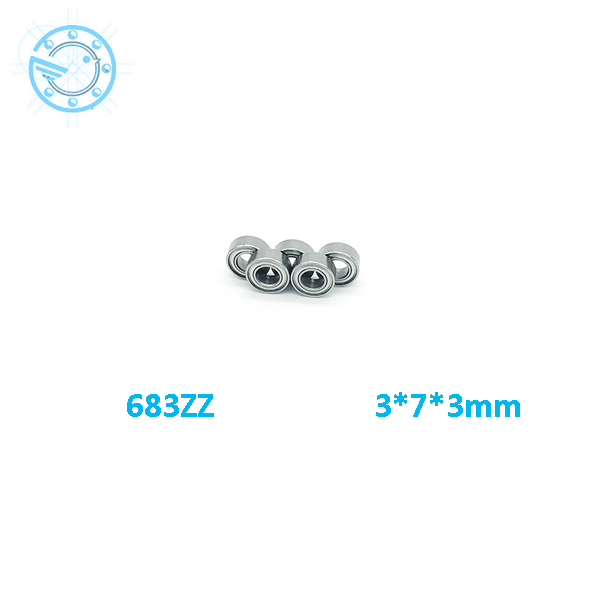 2017 new 10pcs/lot Free Shipping  683ZZ 683 zz Bearings 3x7x3 mm Miniature Ball Bearings 683 Z L-730ZZ free shipping  free shipping 10 pcs 684zz 684z 684 bearings 4x9x4 mm miniature ball bearings l 940zz abec5