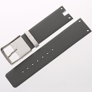 Image 5 - MAIKES New Good Quality Genuine Leather Watchbands Case For CK Calvin Klein K94231 White Black Thin Watch Strap Band