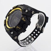 Bounabay impermeable relojes digitales para los hombres reloj tendencia reloj running hombre mens digitales digitais nadar ots smartwatch saat