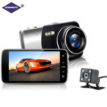 DOXINGYE 4 Full HD 1080P Car DVR Auto Video Dual Camera Driving recorder Night Vision G-senso 170 Wide Angle Box Dash Camera 4 inch 1080p full hd car dvr dash camera 170 degree wide angle video recorder with rear view camera g sensor auto driving camera