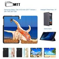 Fashion Beach Conch Cover For Samsung Galaxy Tab A 8 0 2017 T380 T385 SM T385