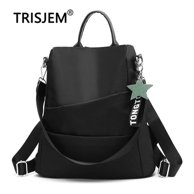 Female High Quality Oxford Cloth Womens Backpack Teenger Girl Fashion Travel Backpack Anti-theft Bag Designer Bags Famous BrandFemale High Quality Oxford Cloth Womens Backpack Teenger Girl Fashion Travel Backpack Anti-theft Bag Designer Bags Famous Brand