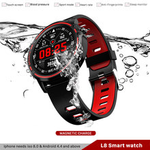 Men Smart Watch Muliti-Sports Mode With ECG PPG Blood Pressure Heart Rat L8  IP68 Waterproof Reloj Smartwatch Hombre
