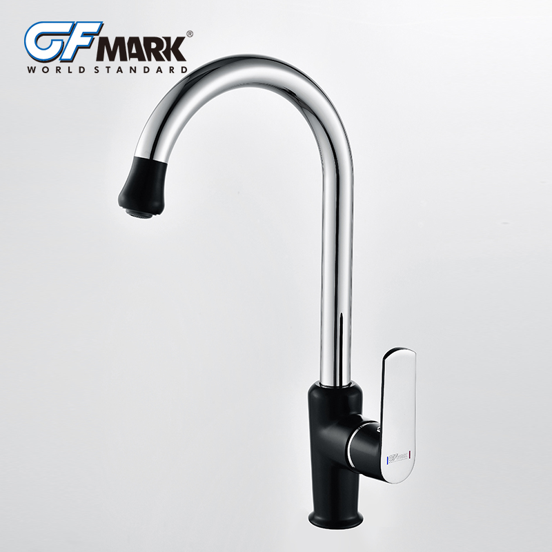 US $48.38 40% OFF|GFmark Modern Kitchen Faucet Colorful Spray Paint  Torneira Taps Chrome Brass Mixer Taps Deck Mounted Sink Faucet Grifo  Cocina-in ...