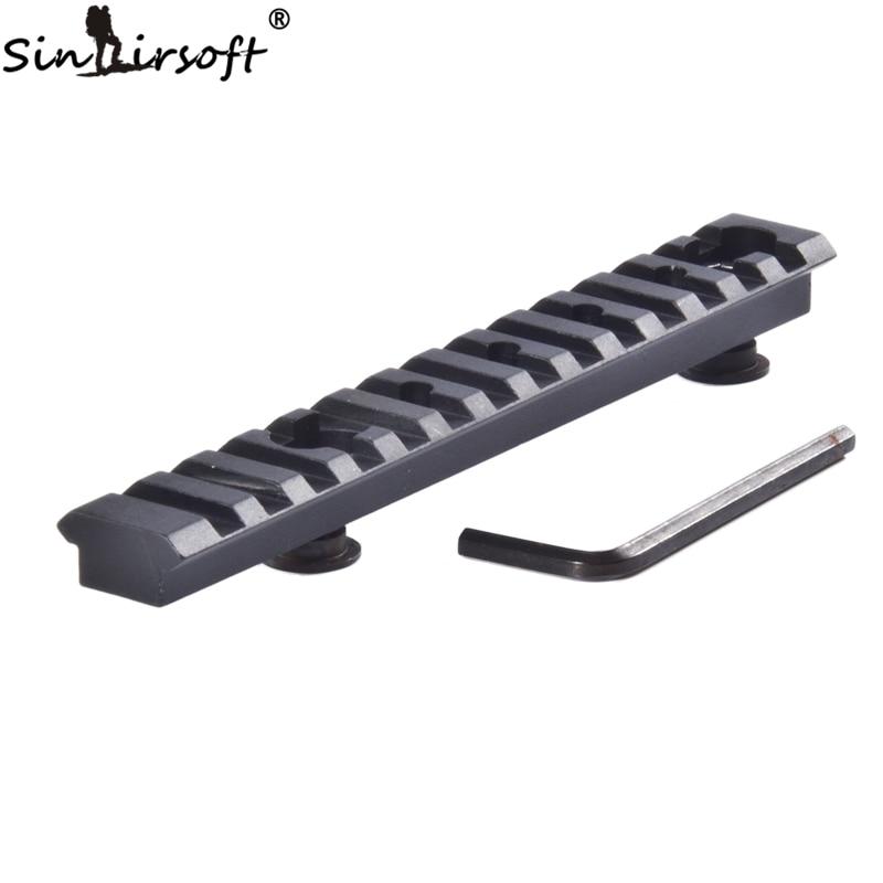 SINAIRSOFT MARS-AR AR15 M4 M16 Carbine Length GI Handguard Rail Weaver Rail For Attaching Optics, Lasers,Flashlights Paintball