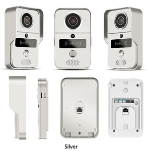 Image 3 - Wireless SD Card Video Recording Video Door Phone+RFID Keyfobs Wifi IP Door Bell POE Camera For ONVIF Connect NVR
