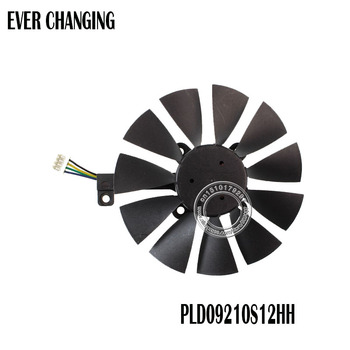 87MM PLD09210S12HH 4Pin 0.40A Cooling Fan For GTX 980 Ti GTX 1050 1060 1080 1070 RX 480 470 Graphics Card Cooler Fan image