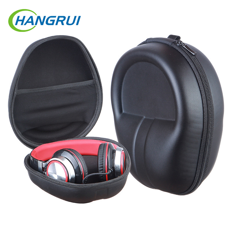 Headphone Storage Bag Carrying Case Hard Earphone Protecter Portable Universal Zipper Headset Holder For travelling Protector