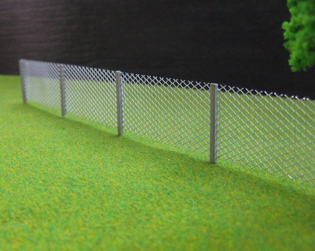 LG8705 1 Meter Model mesh fencing chain link 1:87 HO Scale new