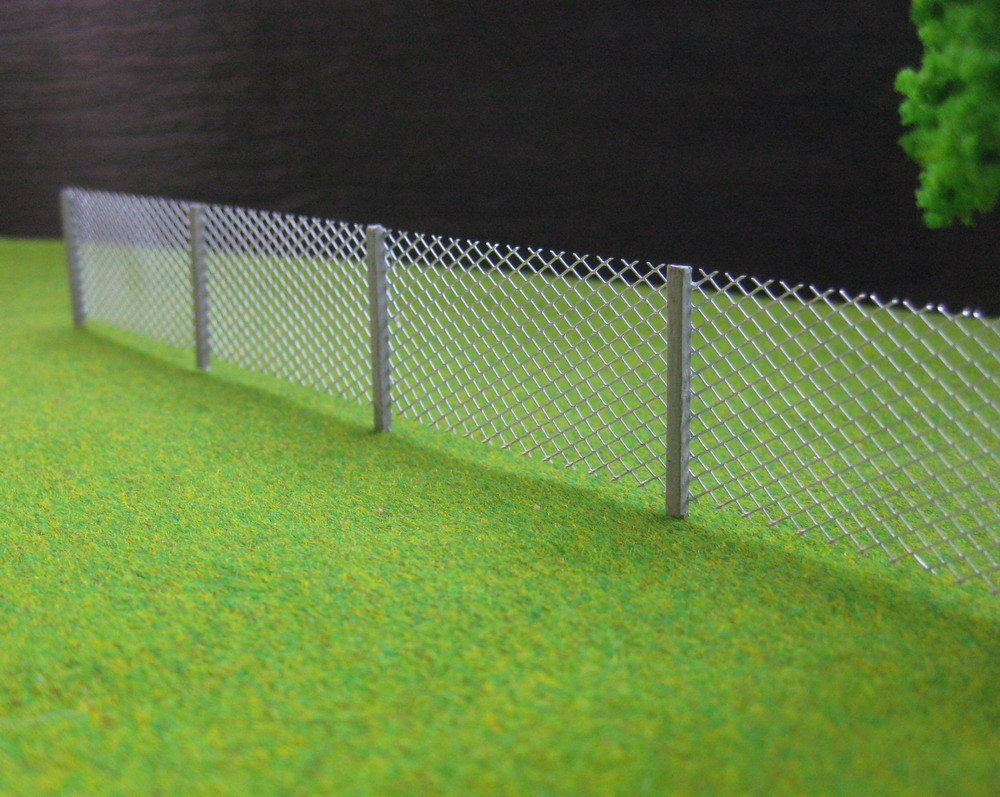 lg8705 1 meter model mesh fencing chain link 187 ho scale newchina