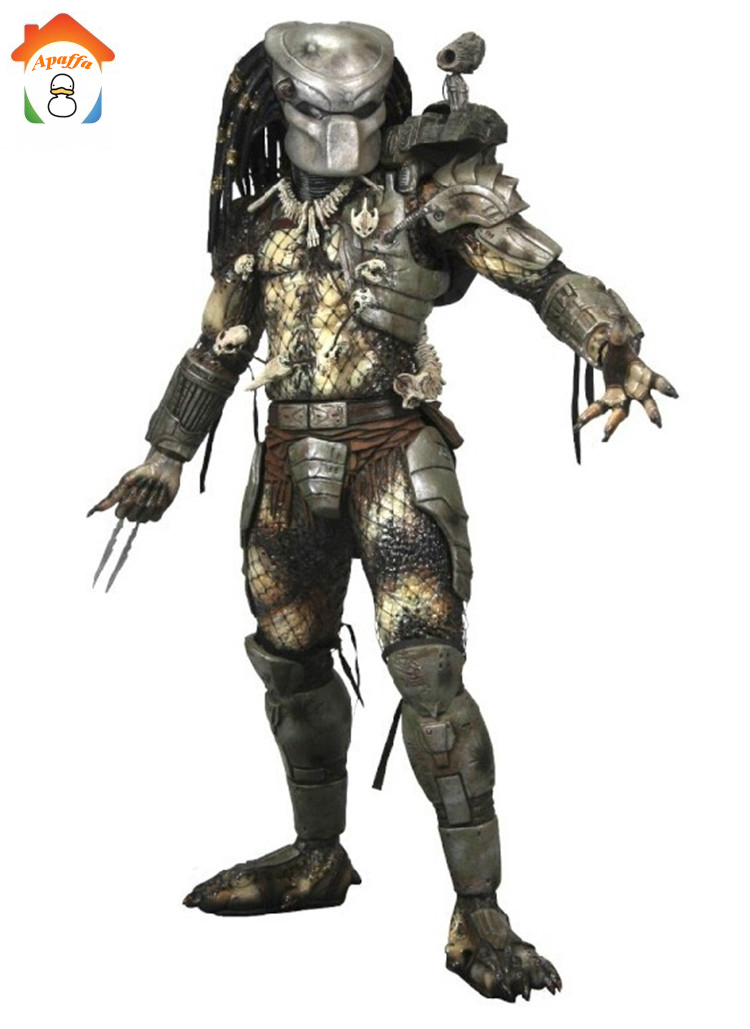 Jungle Hunter PVC Action Figure Toy Predator Classic Predator 25th Anniversary Jungle Hunter PVC Toys 20cm шапка для девочки marhatter цвет светло розовый mdh7223 размер 40 42