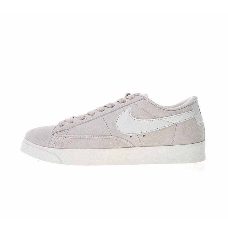 new arrival 76579 66505 US $164.7  Original Authentic Nike Wmns Blazer Low Premium Women's  Comfortable Skateboarding Shoes Sport Sneakers Balanced Light AA3962 605-in  ...