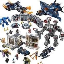 Avengers 4 Legoings Marvel Avenger Endgame Figures 2 Super Heroes End Game Iron Man Thanos Spiderman Batman Building Blocks Toys