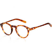 HOT 2018 Gregory Peck fashion round eyeglasses frames Vintage optical myopia women and men eyewear prescription sun lens