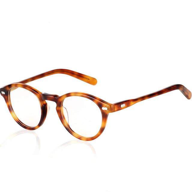 4c7081c572590 HOT 2018 Gregory Peck fashion round eyeglasses frames Vintage optical  myopia women and men eyewear prescription sun lens