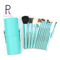 Princess Rose Brand 12pcs Professional Make Up Makeup Brushes Set Kit Brush Holder Foundation Blush Contour