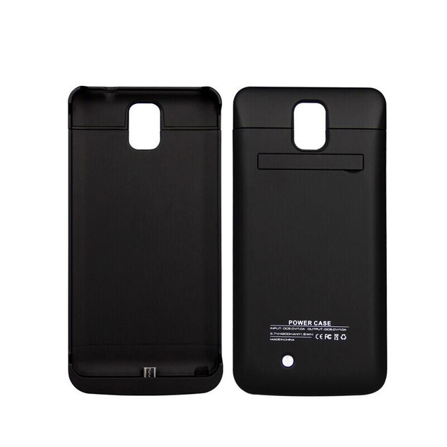 4c88923b5 4200mAh External Power Bank Phone Battery Charger Case For Samsung Galaxy  Note 3 Backup Back Cover
