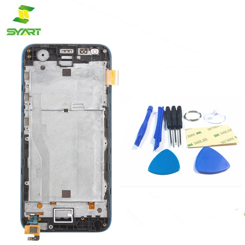 SYART High Quality For HTC Desire 620G LCD Display Touch Display Digitizer Sensor Glass  ...