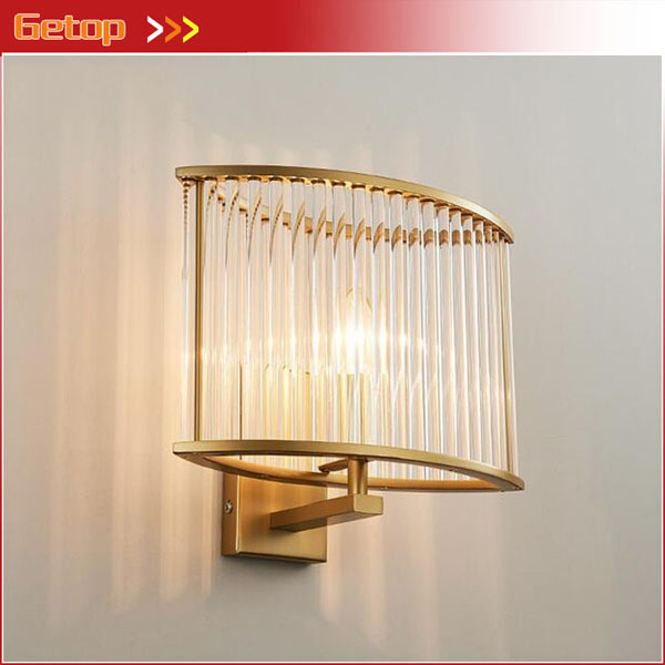 Post-modern Square Crystal Wall Lamp Nordic Fashion Warm Aisle Stairs Bedside Wall Lamp E14 LED Indoor Lighting Fixture modern fashion modern wall sconces iron wooden led wall light fixtures wood aisle home indoor lighting bedside wall lamp