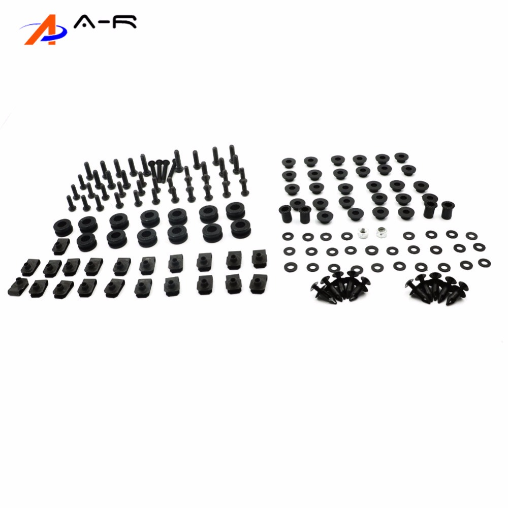 03 06 YZF R6 Motorcycle Body Fairing Bolts Nuts Fastener