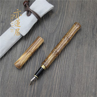 Free Shipping Hermit Bamboo Pen Signature Pen Successful person's pen cultural person student for business use