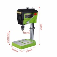 worktable Mini Electric Milling Machine Variable Speed Micro Drill Press Grinder BG 5168E vise Multifunctional Working Table