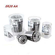 1PCS ER20 AA high quality precision spring engraving machine set CNC milling lathe tool collet