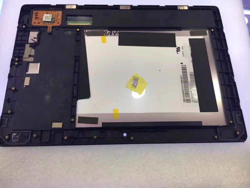 For Lenovo S6000 H S6000H S6000 Touch Screen Digitizer With LCD Display With Frame Assembly Free