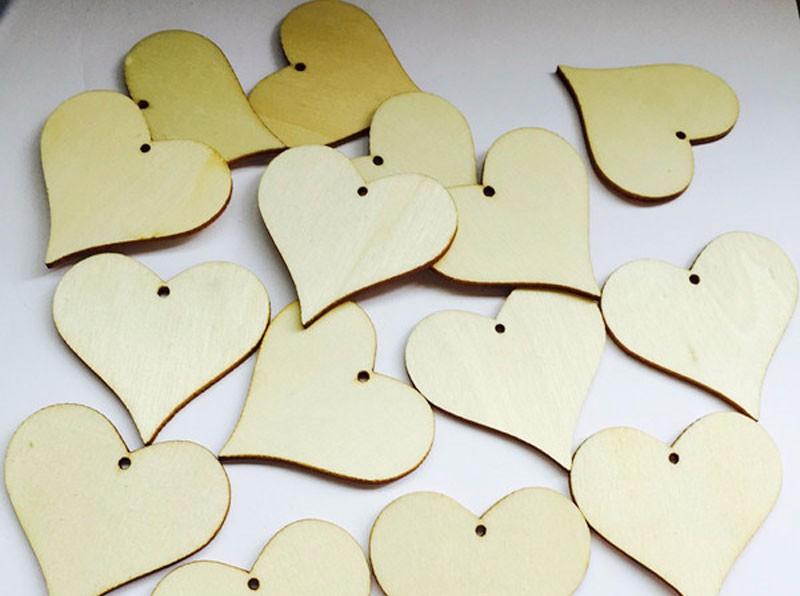 100pcs Wooden Hearts Wishing Wedding Tag - Wedding Depository - HTB1L2xyKFXXXXbFaXXXq6xXFXXXe