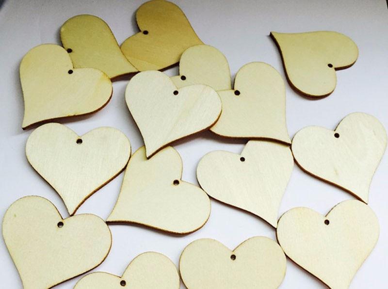 100pcs Wooden Hearts Wishing Wedding Tag - Wedding Depository - HTB1L2xyKFXXXXbFaXXXq6xXFXXXe