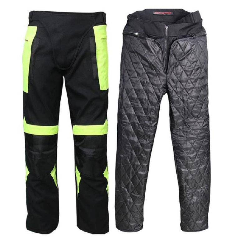 Winter Men Motorcycle Jacket Motorcycle Pants Set Motorcycle Racing Suit Protective Gear Windproof Clothing Jacket pant